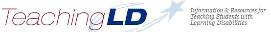 Image of teaching LD logo.