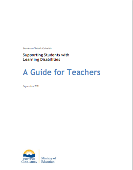 Supporting Students with Learning Disabilities Guide