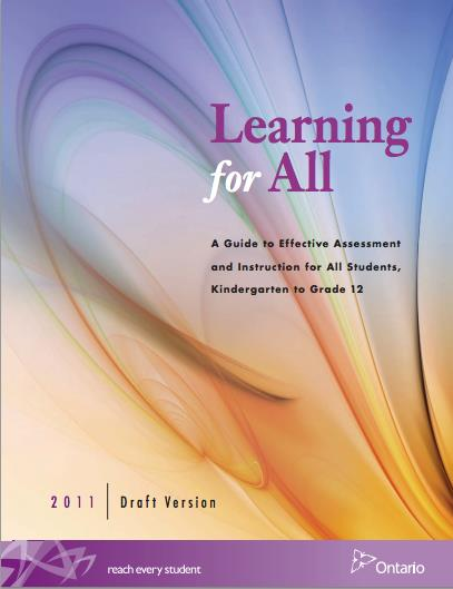 Image of the book : Learning For All