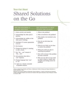 shared solutions on the go