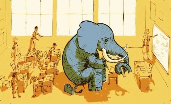 elephant in the classroom