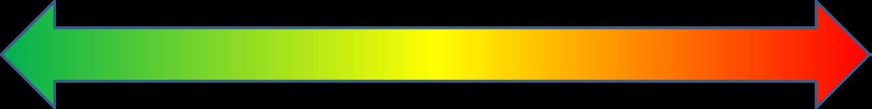 An Arrow that represents a continuum