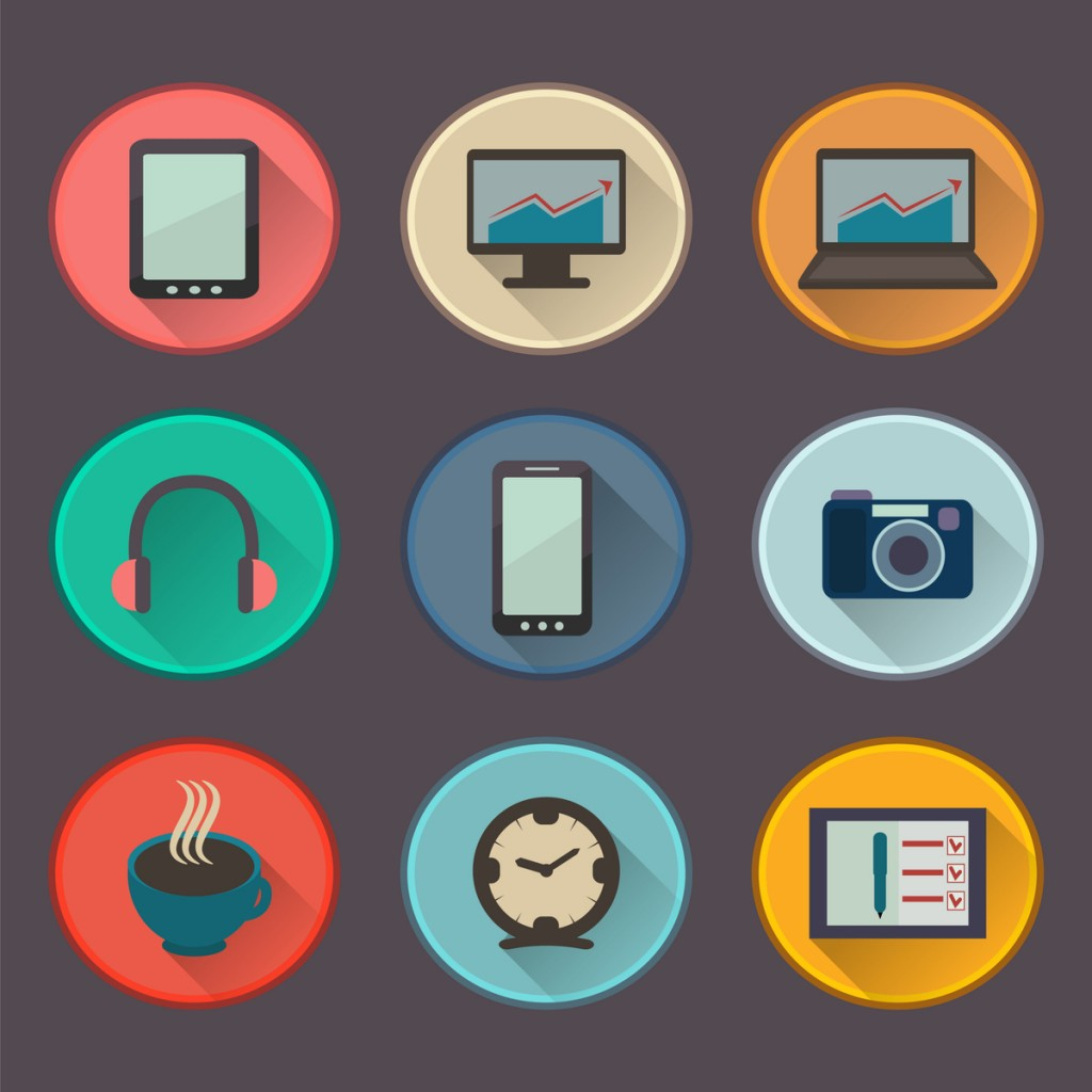 9 graphics representing different technologies