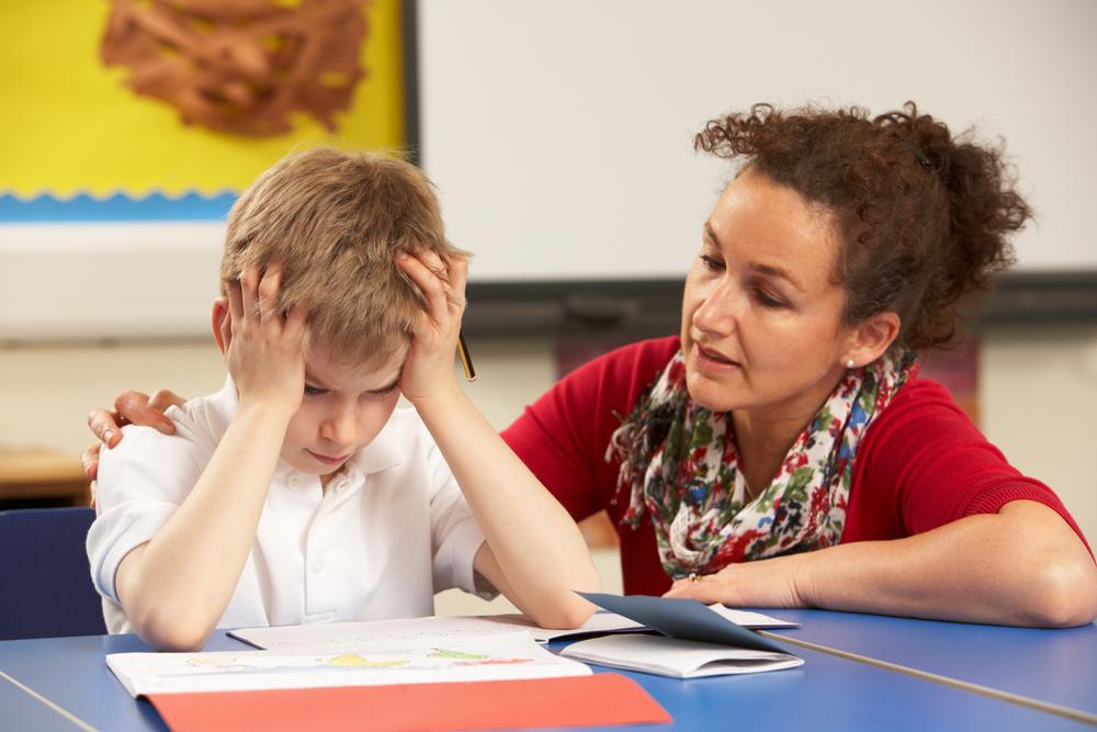 Image: Stressed student