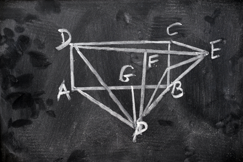 math diagram geometry angles labled