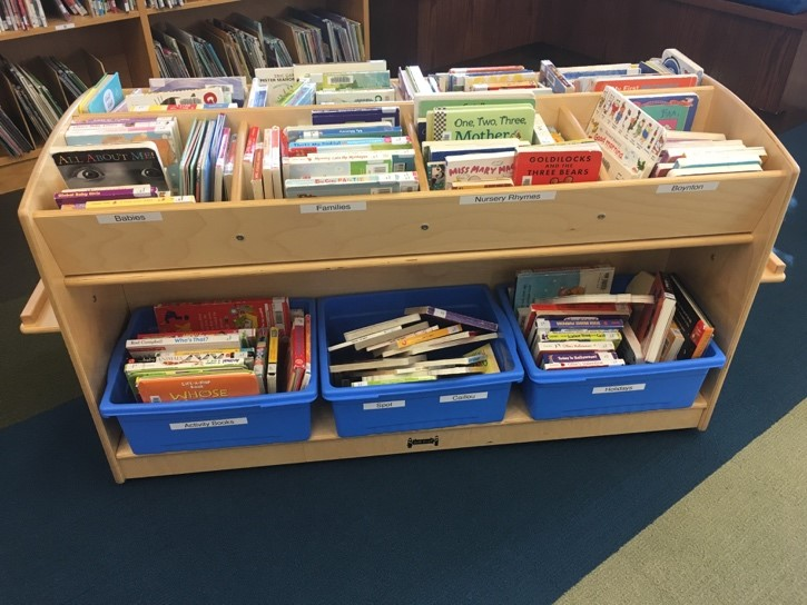 How should I organize my classroom library to make it accessible to
