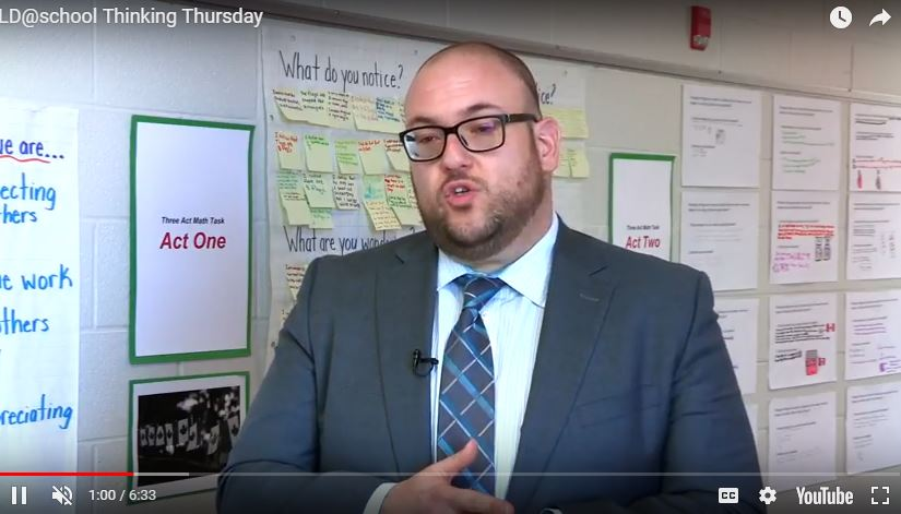 VIDEO! Thinking Thursdays: Encouraging Critical Thinking in Math