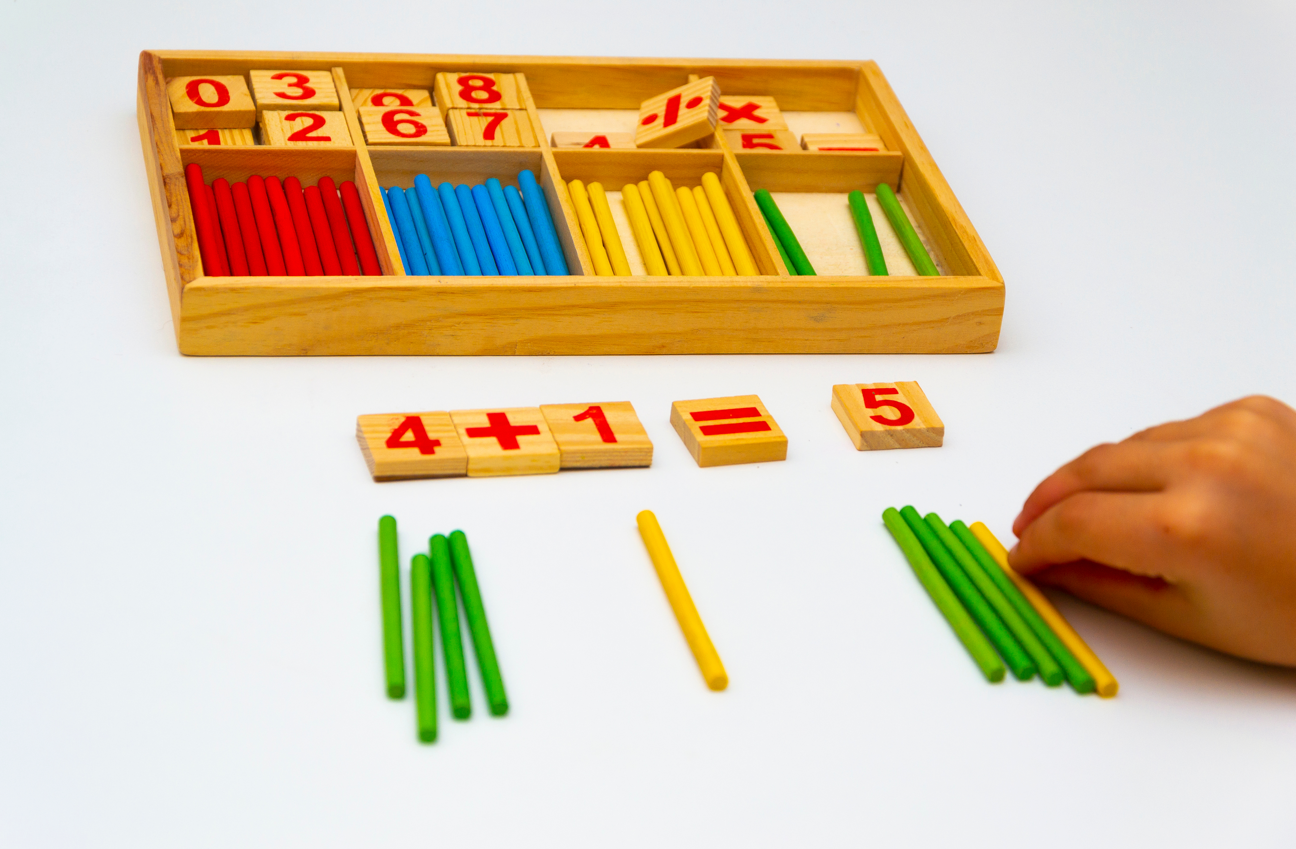 Using Manipulatives to Support Math Learning at Home