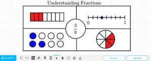 visual representation of fractions differentiation math